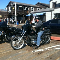 Photo taken at Stearns Wharf by Stephanie T. on 2/24/2013