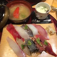 Photo taken at 沼津魚がし鮨 パルシェ6F店 by Shinya I. on 1/2/2015