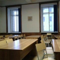 Photo taken at Географический факультет МГУ by Andrey K. on 11/2/2012
