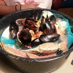 Photo taken at Joe's Crab Shack by Jorge P. on 3/30/2013