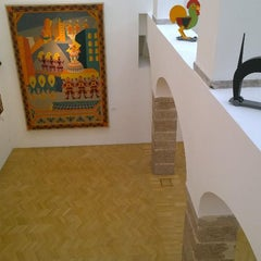 Photo taken at Casa d'Arte Futurista Fortunato Depero by elisa c. on 8/28/2014
