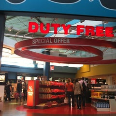 Photo taken at ATÜ Duty Free by Guzel G. on 10/25/2012