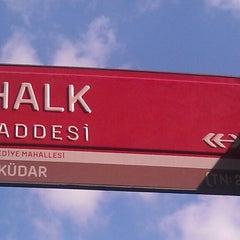 Photo taken at Halk Caddesi by Ilker I. on 8/9/2013