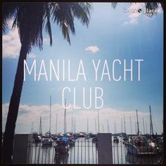 Photo taken at Manila Yacht Club by CRISTINA T. on 3/31/2013