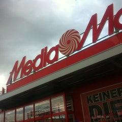 Photo taken at Media Markt Offenburg by Isabelle on 10/12/2012