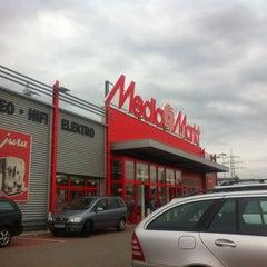Photo taken at Media Markt Offenburg by Isabelle on 9/29/2012