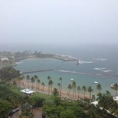 Photo taken at Caribe Hilton by Joe T. on 8/22/2013