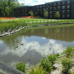 Photo taken at SUNY New Paltz by Trayvont Y. on 9/19/2012