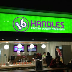 Photo taken at 16 Handles by Kyle on 1/7/2013