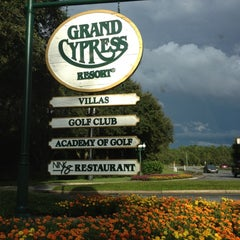 Photo taken at Villas of Grand Cypress Orlando by Maria on 10/4/2012