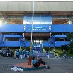 Photo taken at GOR H. Agus Salim by Armas S. on 6/22/2013