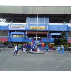 Photo taken at GOR H. Agus Salim by Armas S. on 8/15/2014