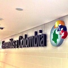 Photo taken at Aeropuerto Internacional El Dorado (BOG) by Daniel Costa d. on 7/19/2013