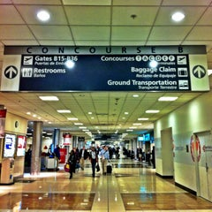 Photo taken at Concourse B by Daniel Costa d. on 1/10/2013