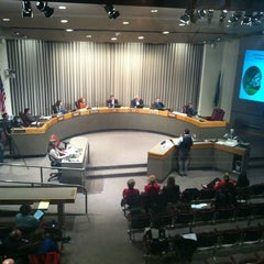 Photo taken at City Council Chambers by Ryan G. on 10/23/2012