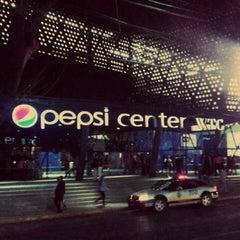 Photo taken at Pepsi Center WTC by Viri S. on 3/1/2013