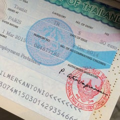 Photo taken at Ambassade Royale de Thaïlande | สถานเอกอัครราชทูตไทย ณ กรุงปารีส | Royal Thai Embassy in Paris by Gilmer A. on 12/8/2014