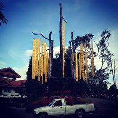Photo taken at พระตำหนักดอยตุง (Doi Tung Royal Villa) by Gongzstudio T. on 11/27/2012