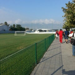 Photo taken at Polideportivo Tigres UANL by Paola Y. on 10/24/2014
