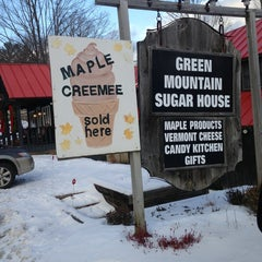 Photo taken at Green Mountain Sugar House by Chelsea D. on 12/23/2012