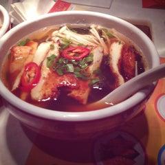 Photo taken at Yo! Sushi by Nouf A. on 1/18/2013