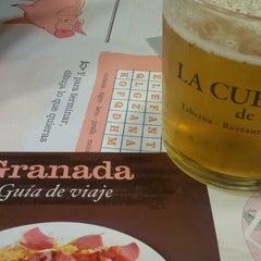 Photo taken at Restaurante La Cueva by David I. on 10/14/2014