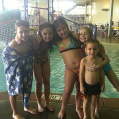 Photo taken at Castle Rock Community Recreation Center Leisure Pool by Julie F. on 4/27/2013