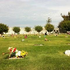 Photo taken at Jardines de la Paz by Lenin C. on 10/7/2012