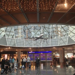 Photo taken at Concourse A by Paco U. on 11/24/2012