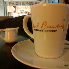 Photo taken at Robert's Coffee by FG on 12/30/2012