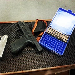 Photo taken at Stronghand Shooting Range by Keen C. on 11/1/2014