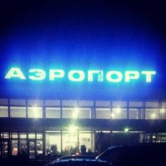 Photo taken at Международный аэропорт Большое Савино / Bolshoye Savino International Airport (PEE) by Olga S. on 10/9/2012