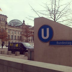 Photo taken at U Bundestag by Irinka K. on 1/20/2013