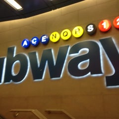 Photo taken at MTA Subway - 42nd St/Times Square/Port Authority Bus Terminal (A/C/E/N/Q/R/S/1/2/3/7) by Rahiem B. on 10/27/2012