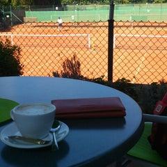 Photo taken at Alexx Tennis am Tivoli by Vesselka V. on 9/16/2012