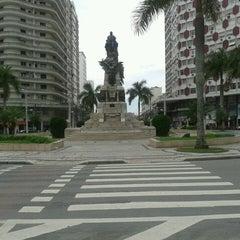 Photo taken at Praça da Independência by Marlucy B. on 5/29/2013