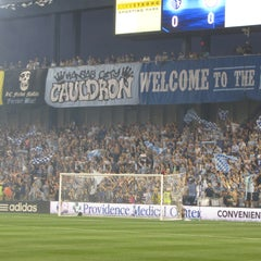 Photo taken at Sporting Park by Reggie A. Gamble on 10/22/2012