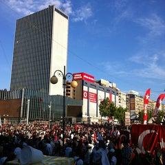 Photo taken at Kızılay by Sevil Ö. on 6/9/2013