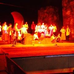 Photo taken at Летен Театър (The Summer Theatre) by Игорь П. on 8/27/2014