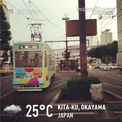 Photo taken at ローソン 岡山駅前店 by Bessi on 7/9/2015