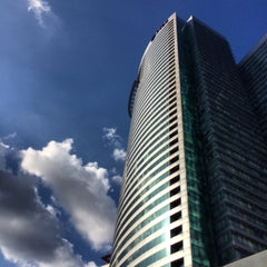 Photo taken at RCBC Plaza by Randy E. on 4/8/2015