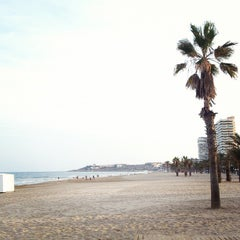 Photo taken at Playa de San Juan by Chema B. on 10/6/2012