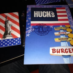 Photo taken at Huck's American Bar and Grill by Scott M. on 9/25/2013