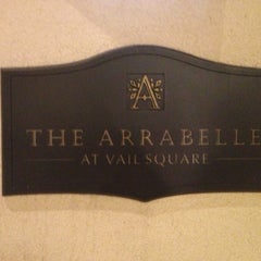 Photo taken at The Arrabelle at Vail Square, A RockResort by Ronnie T. on 2/2/2013