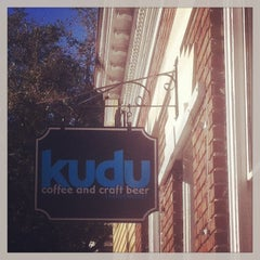 Photo taken at Kudu Coffee & Craft Beer by Jillian G. on 1/20/2013