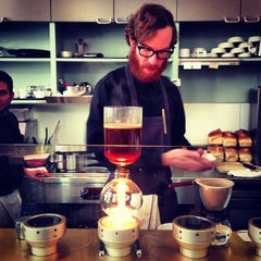 Photo taken at Blue Bottle Coffee by David F. on 2/3/2013