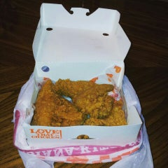Photo taken at Popeyes by Devoted A. on 10/10/2015
