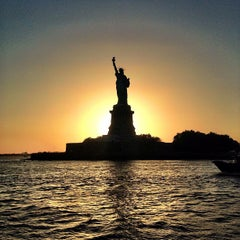 Photo taken at Statue of Liberty by Viral P. on 7/14/2013
