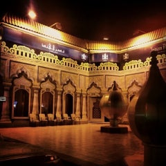 Photo taken at Indian Palace | قصر الهند by Majeed A. on 12/15/2012