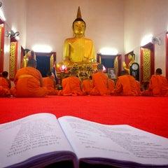 Photo taken at วัดพุทธมงคลนิมิตร (Wat Buddhamongkolnimit) by Tan T. on 4/14/2016